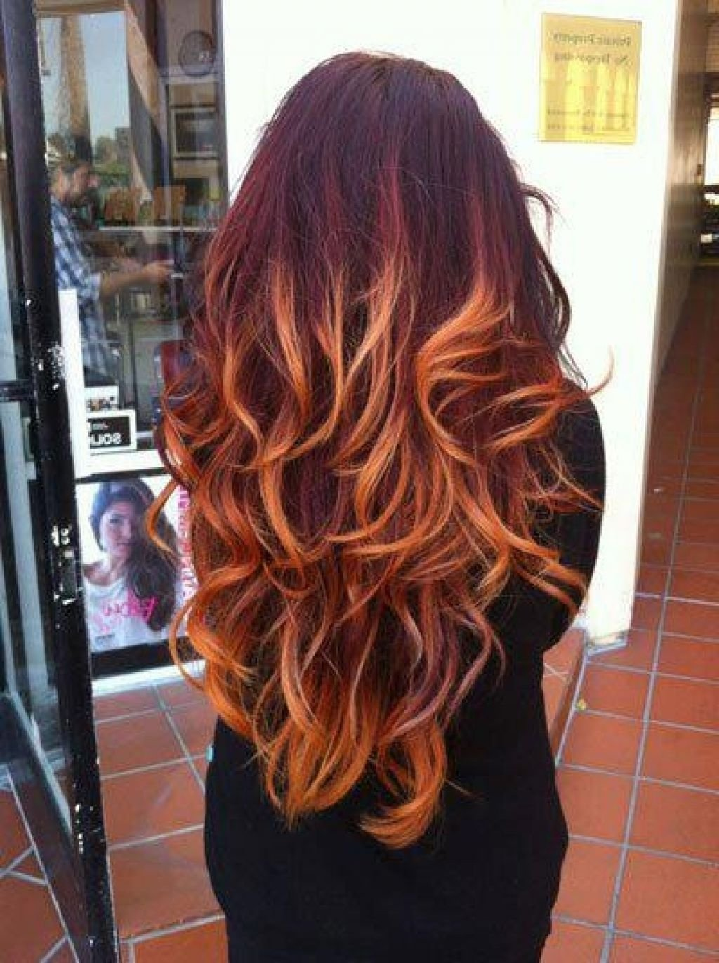 10 Stunning Red With Blonde Hair Color Ideas red ombre hair colors ideas hair color pinterest red ombre 2021