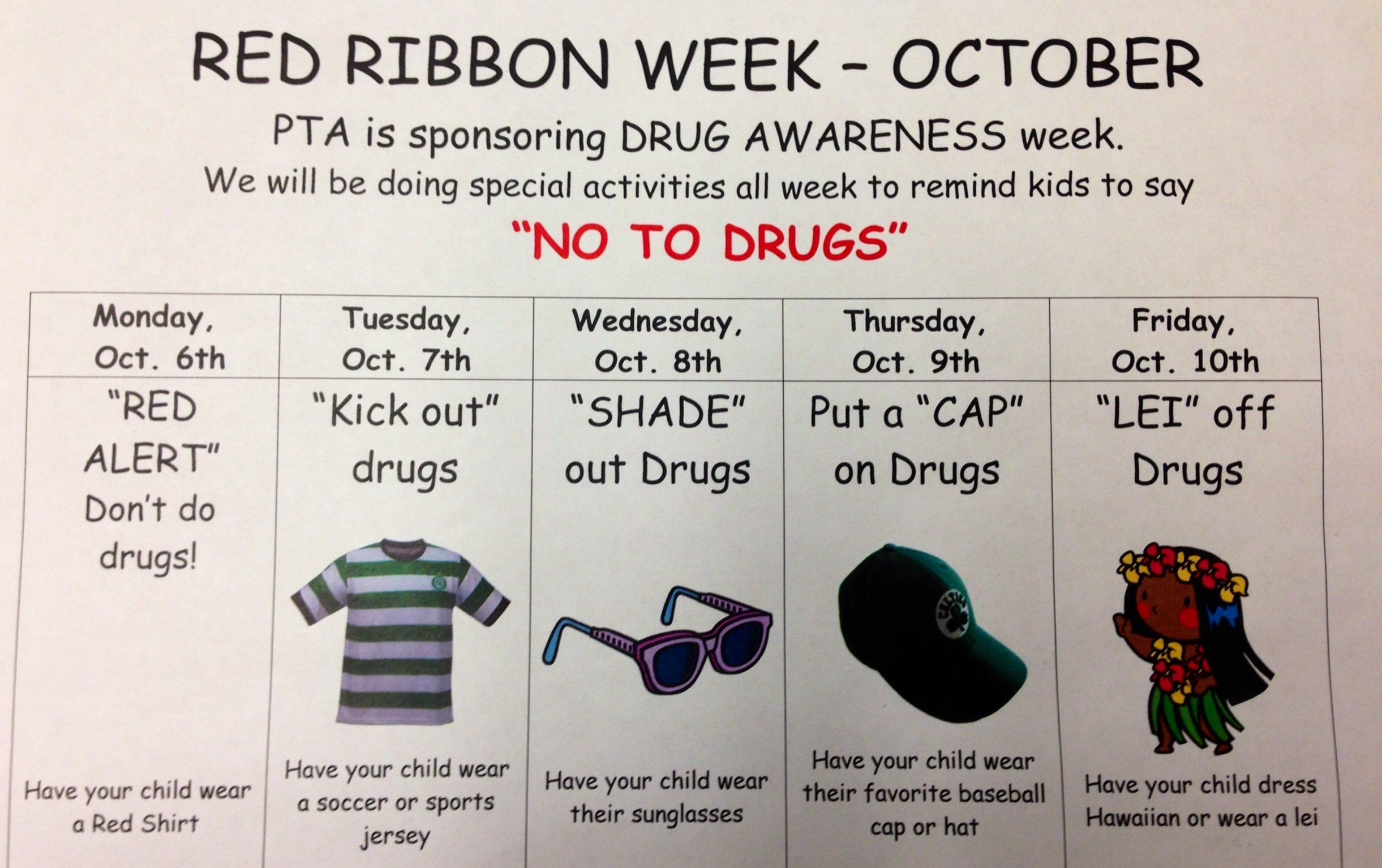 red ribbon week – 21st century educator