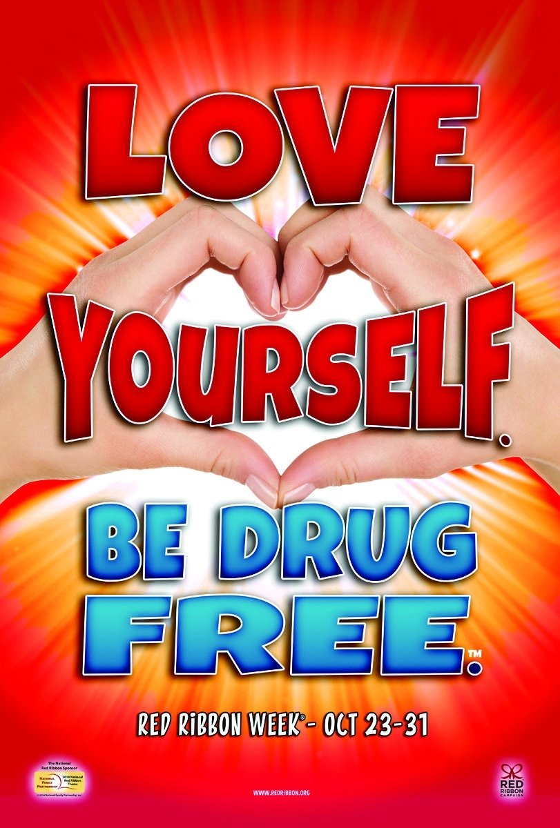 10 Stylish Say No To Drugs Poster Ideas red ribbon week activities get healthy twist healthy kids today