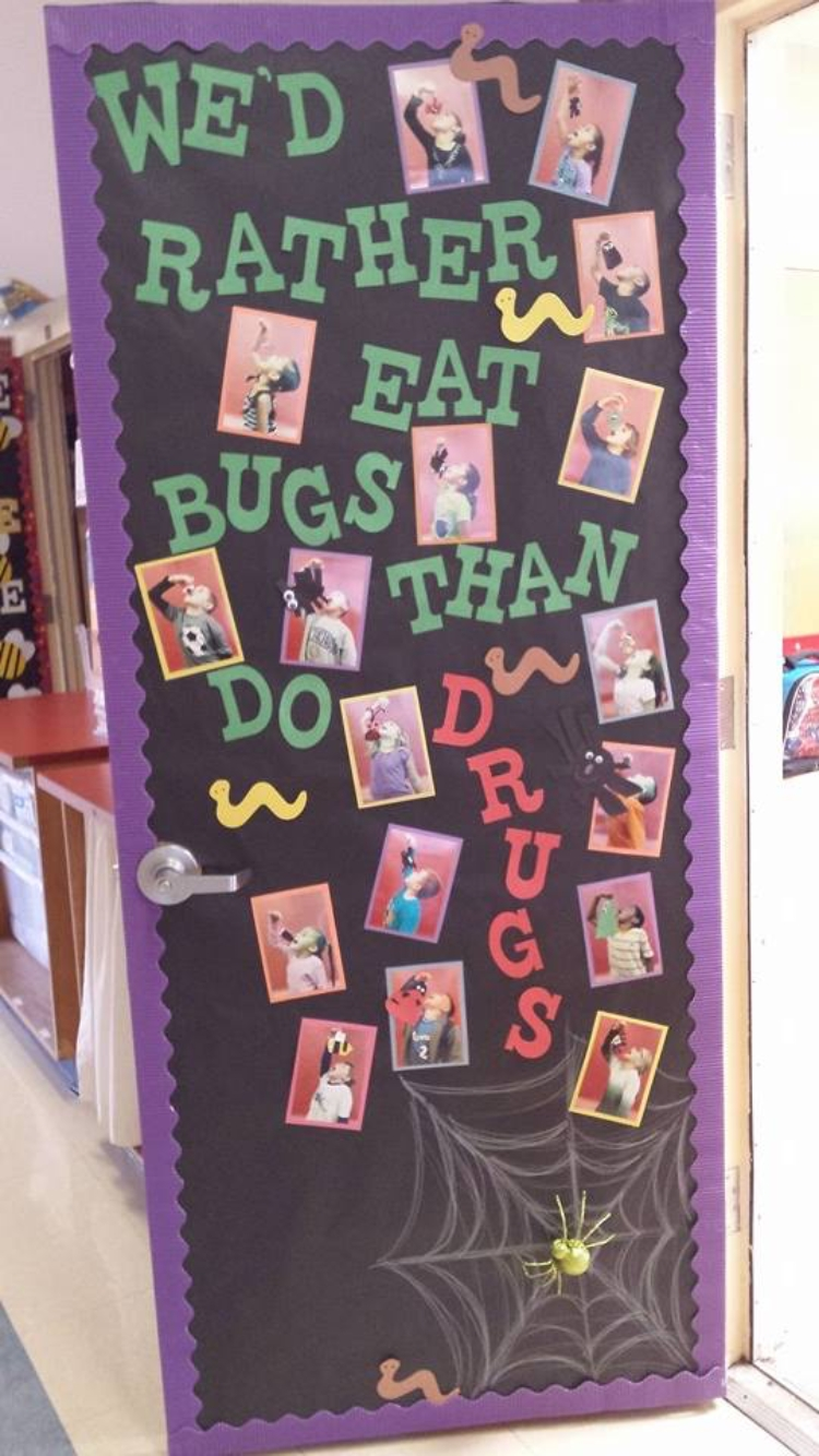 10 Great Red Ribbon Week Bulletin Board Ideas red ribbon week door decorating red ribbon week door decorating 2 2020