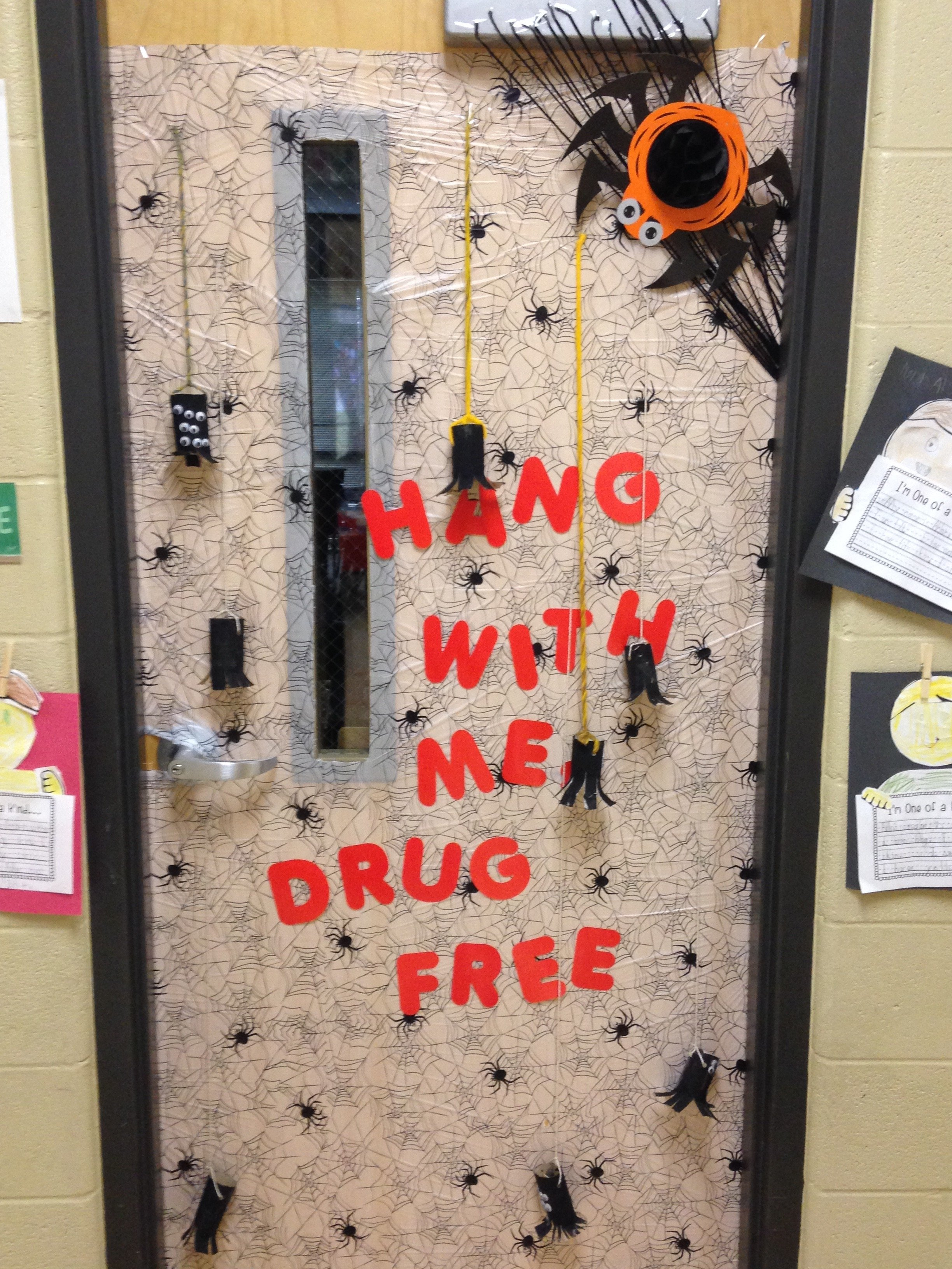 10 Famous Ideas For Red Ribbon Week red ribbon week door decorations saint john vianney catholic school 2 2020