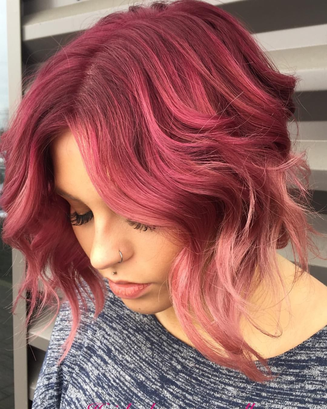 10 Cute Fun Red Hair Color Ideas red violet ombre hair new hair color ideas hair mom haircuts 2020