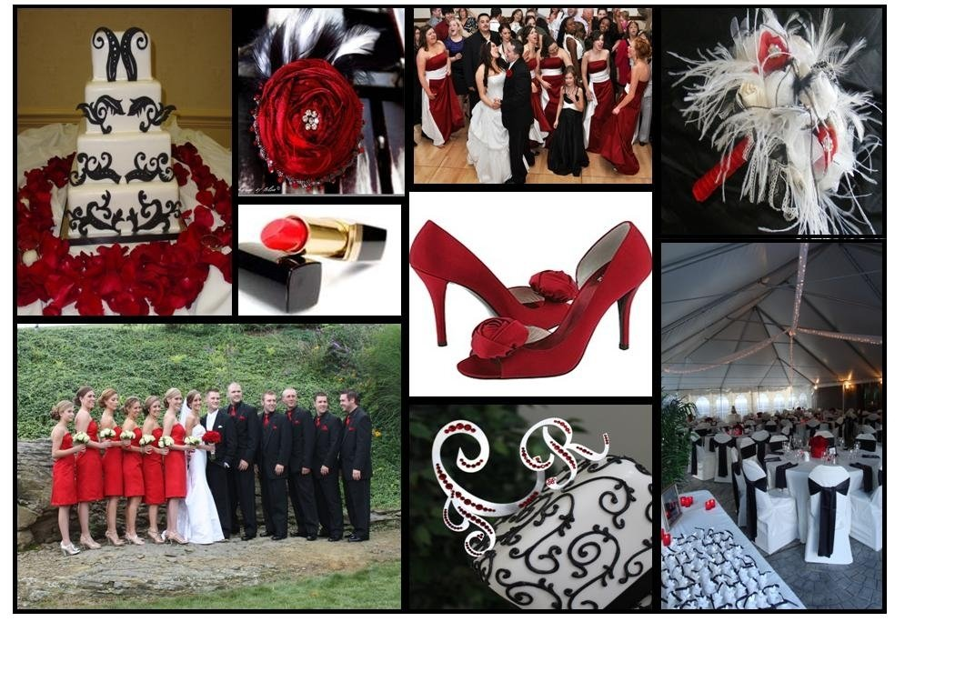 10 Perfect Red White And Black Wedding Ideas red white black wedding wedding ideas uxjj 2020