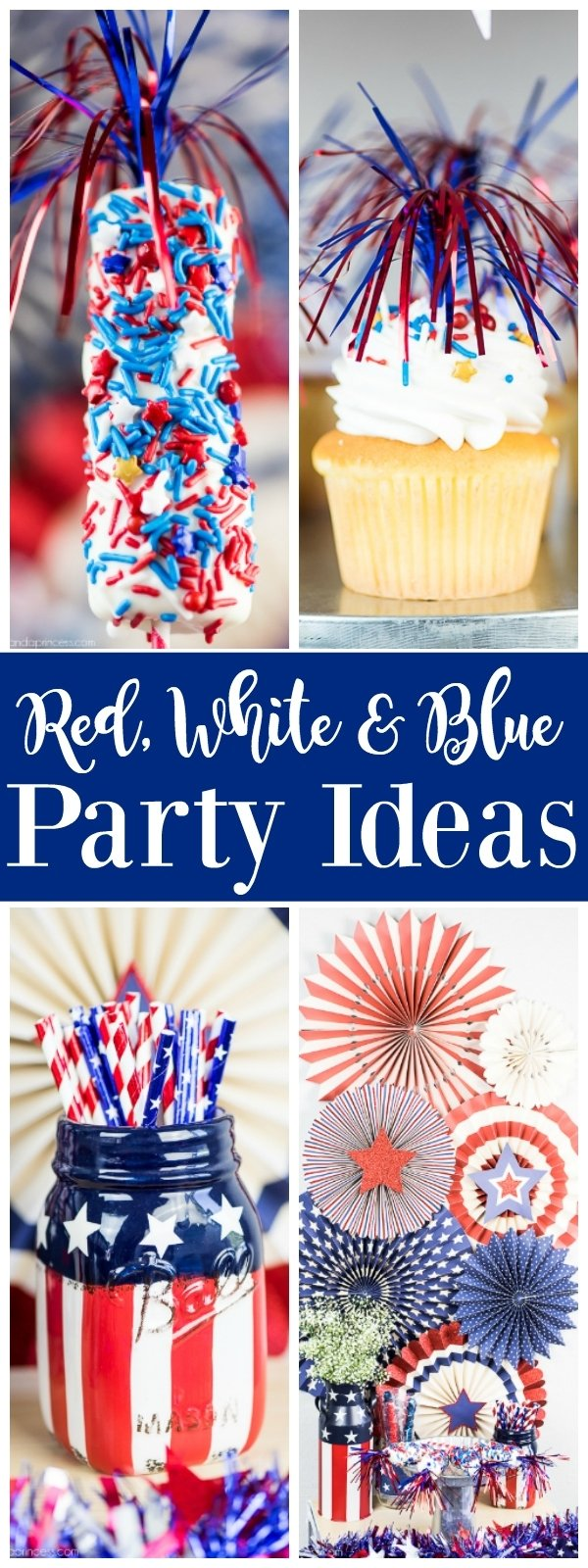 10 Beautiful Red White And Blue Party Ideas red white blue party ideas 2020