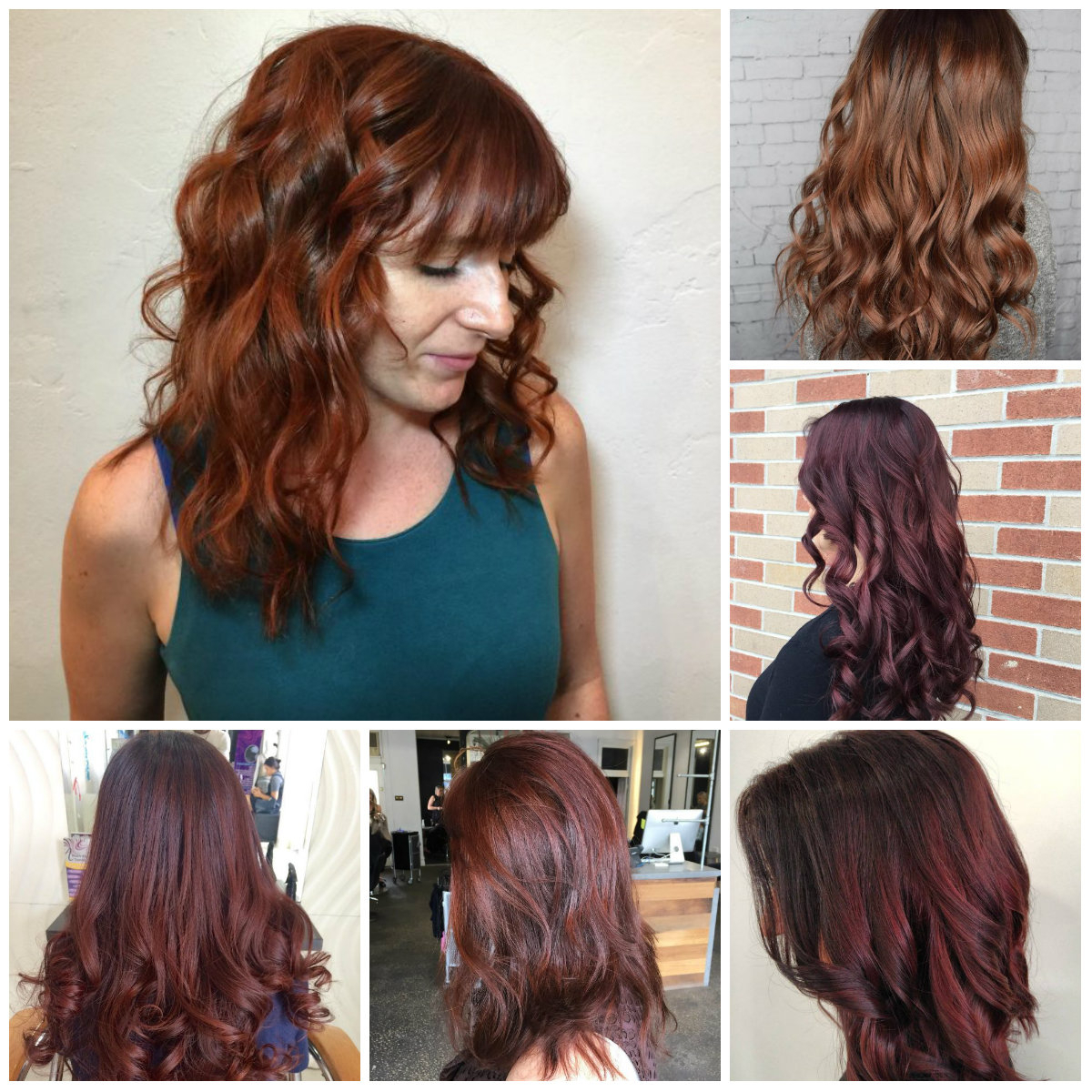 reddish brown hair colors for 2018 – best hair color ideas & trends