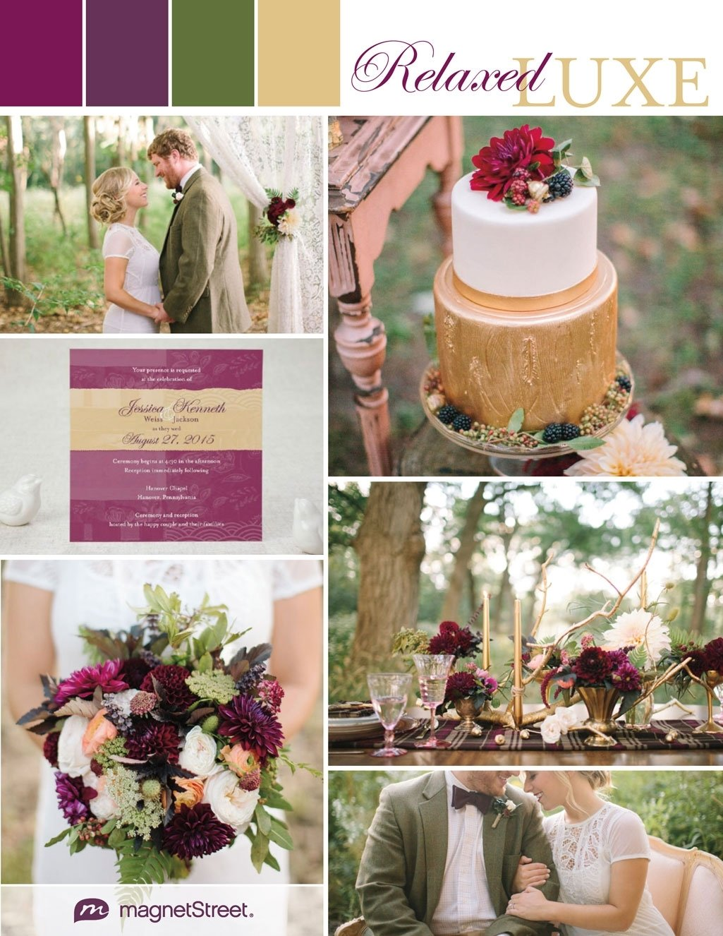10 Awesome Purple And Green Wedding Ideas regal and rustic wedding ideasregal and rustic wedding ideas 1 2021