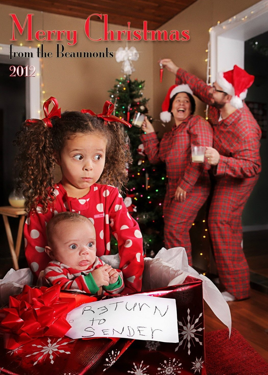 10 Fabulous Unique Family Christmas Photo Ideas