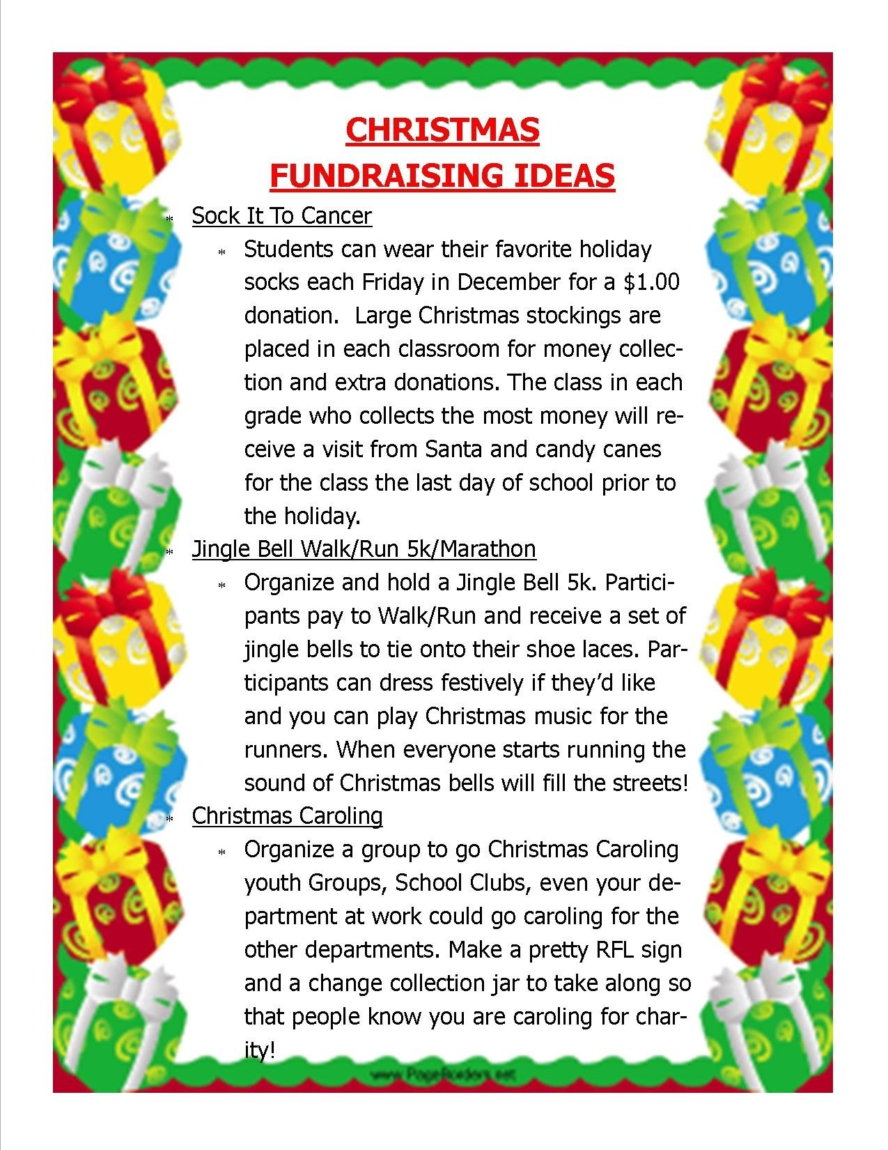 10 Famous Fundraising Ideas For School Clubs relay for life christmas fundraising ideas ccfa take steps 1 2020