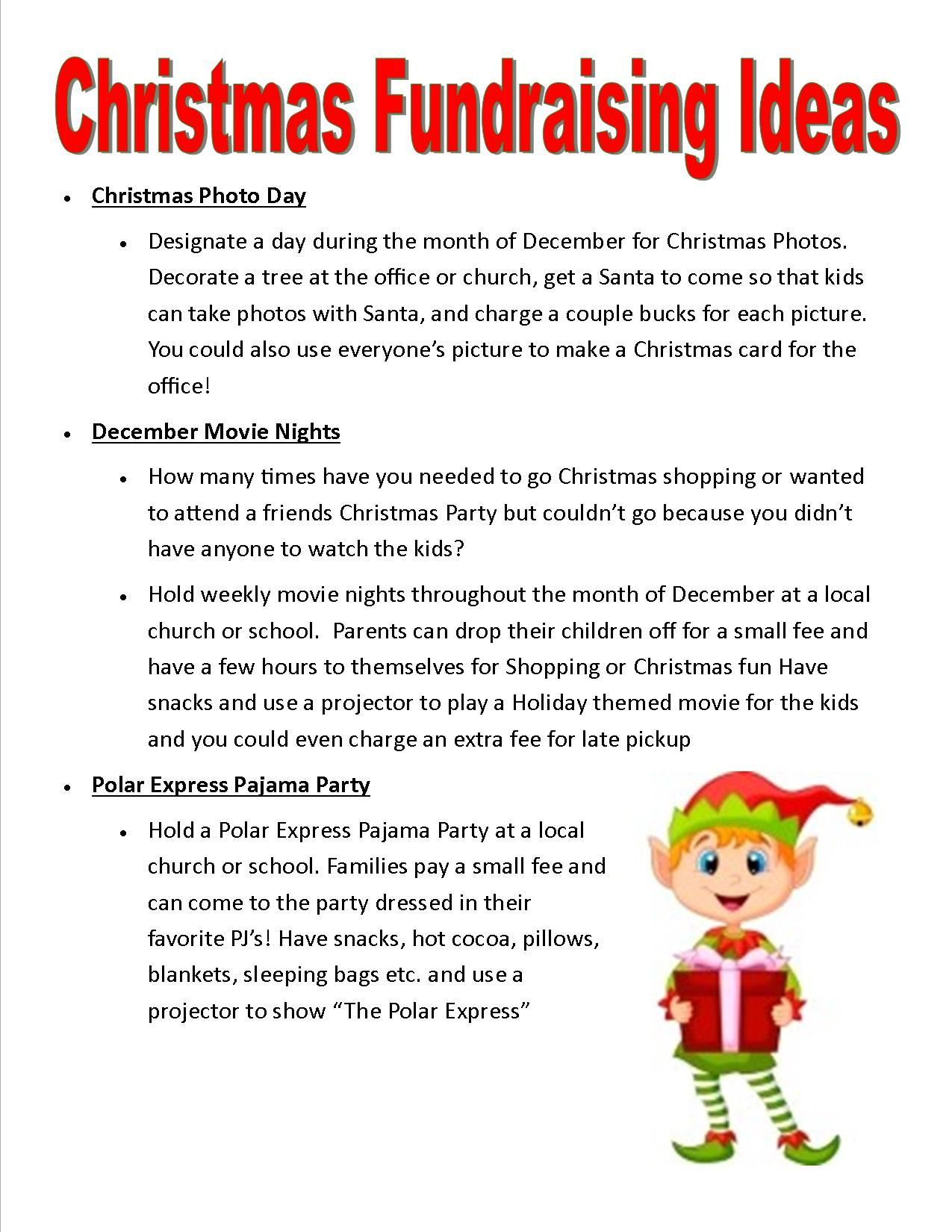 relay for life christmas fundraising ideas | school stuff | scouts