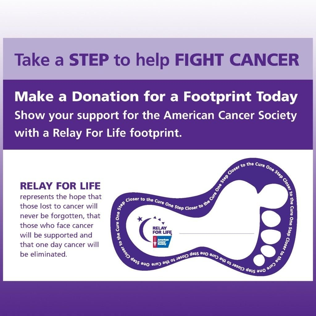 10 Pretty Relay For Life Entertainment Ideas relay for life forms step to help fight cancermaking a