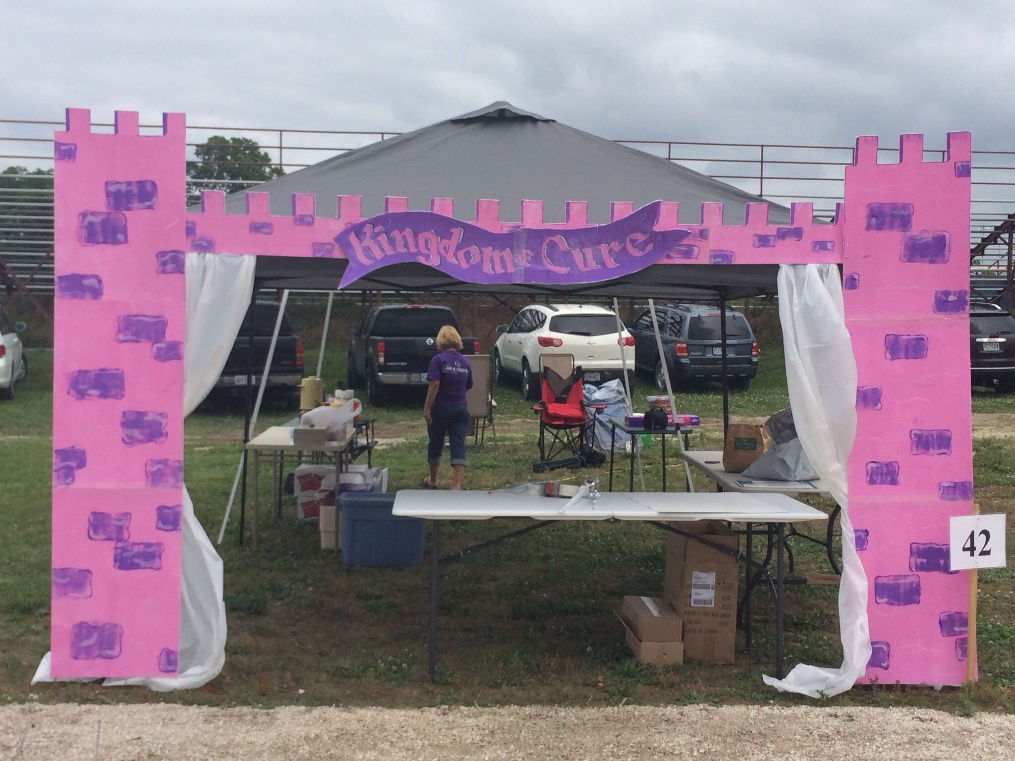 10 Perfect Relay For Life Booth Ideas relay for life once upon a cure theme princess castle booth tent 2021
