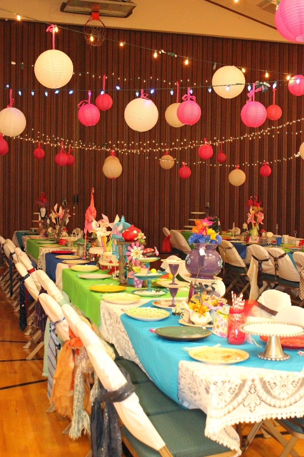 relief society birthday party: mad hatter party | relief society