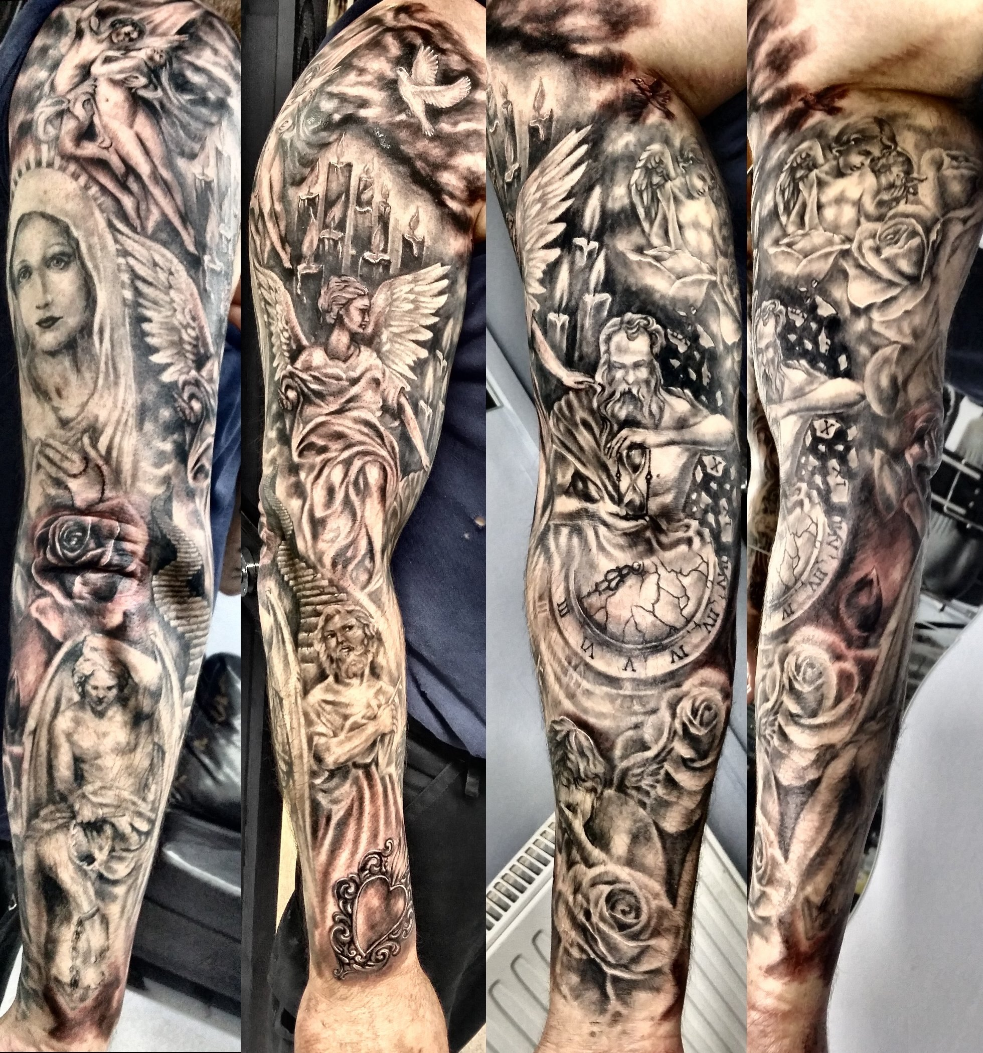 10 Famous Religious Tattoo Ideas For Men religious tattoo sleeves for men pinterest e280a2 the worlds catalog of