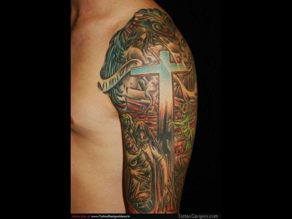 10 Pretty Christian Tattoo Ideas For Men religious tattoos picture christian tattoos pinterest