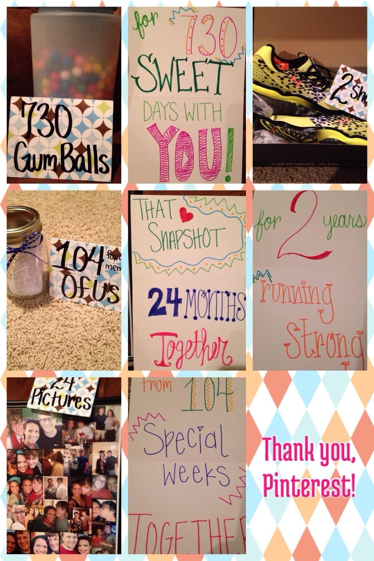 10 Beautiful Two Year Anniversary Gift Ideas remake 2 year anniversary idea he loved it gift ideas 4 2020
