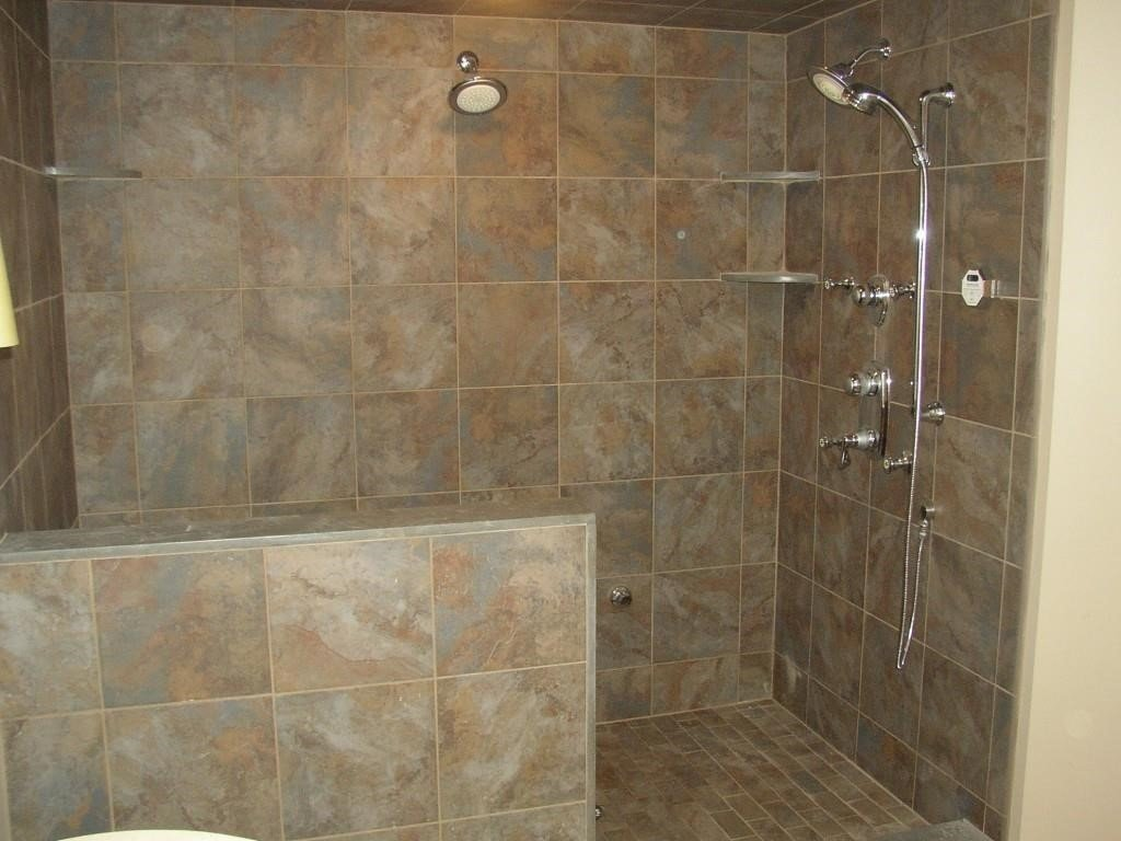 remarkable ideas for doorless shower designs walk in shower ideas