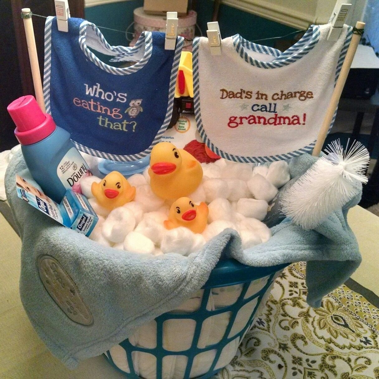 repurposing laundry baskets: make a washing machine for kids, use as
