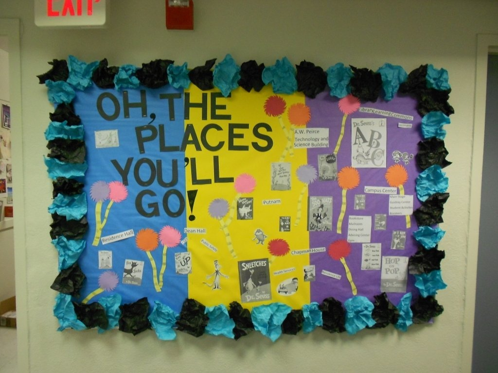 10 Lovable Oh The Places You Ll Go Bulletin Board Ideas resident assistant oh the places youll go on campus bulletin board