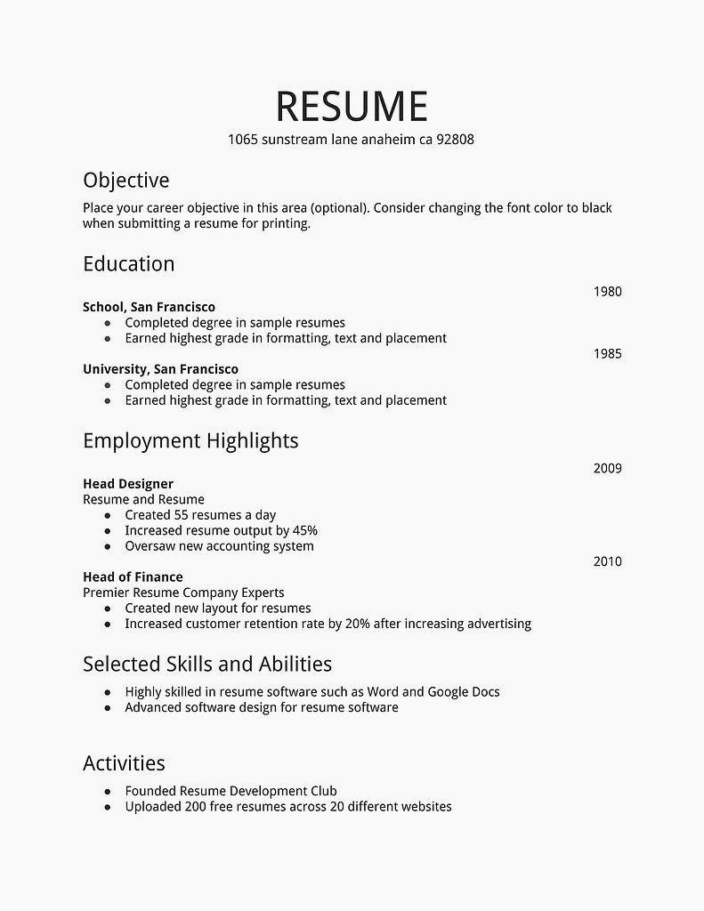 10 Stunning Job Ideas For 15 Year Olds resume for 15 year old best of resume for 15 year old first job 2020