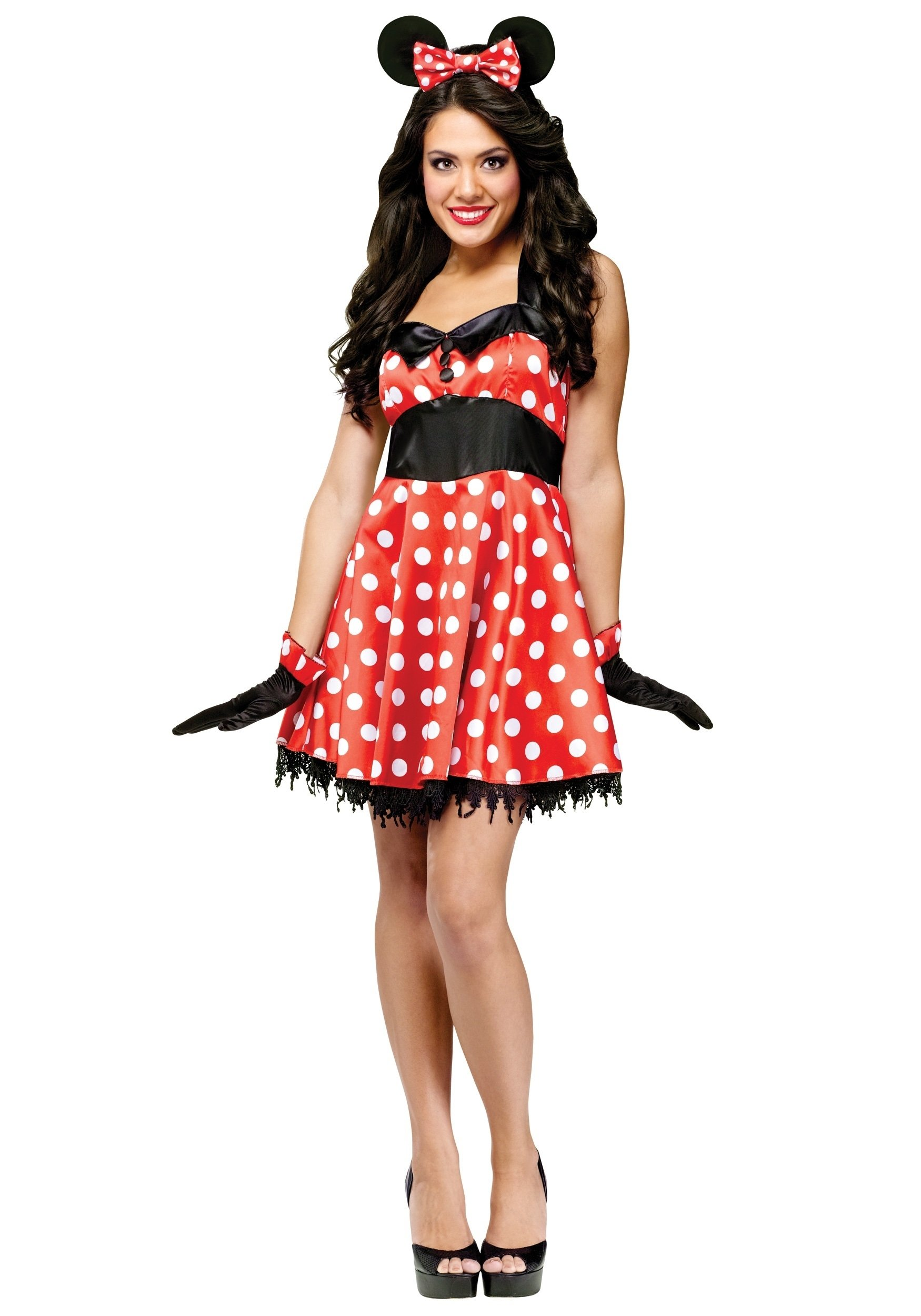 10 Great Minnie Mouse Costume Ideas For Women retro miss mouse costume 2020