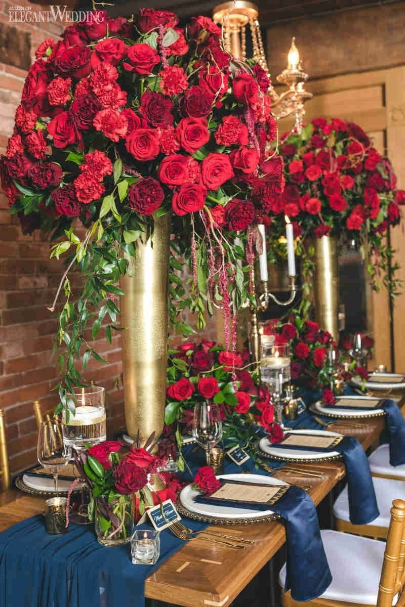 10 Fantastic Red And Gold Wedding Ideas