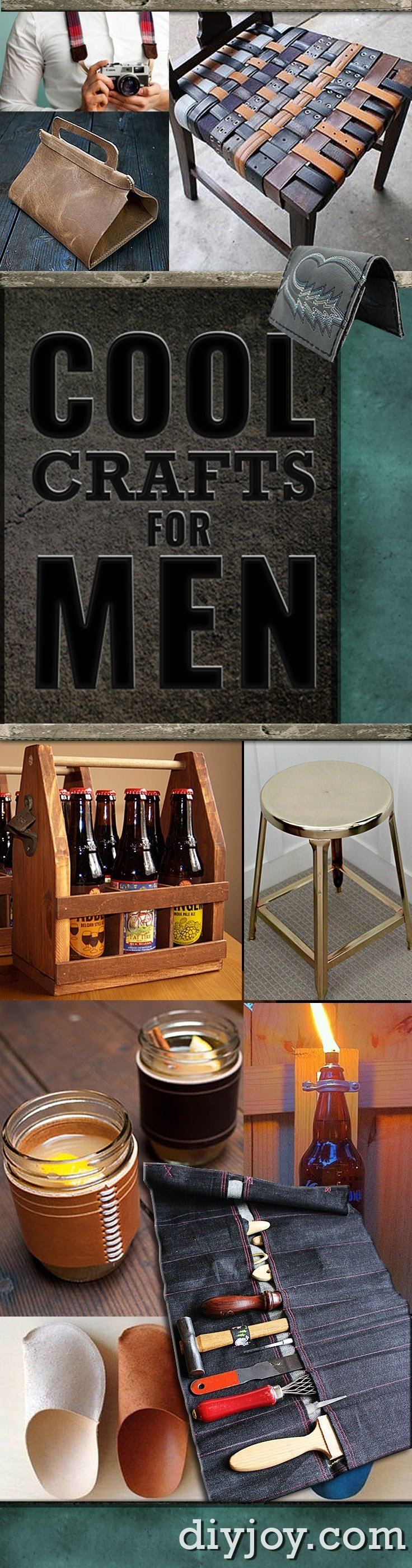 10 Lovely Senior Project Ideas For Guys ridiculously cool diy crafts for men 2020