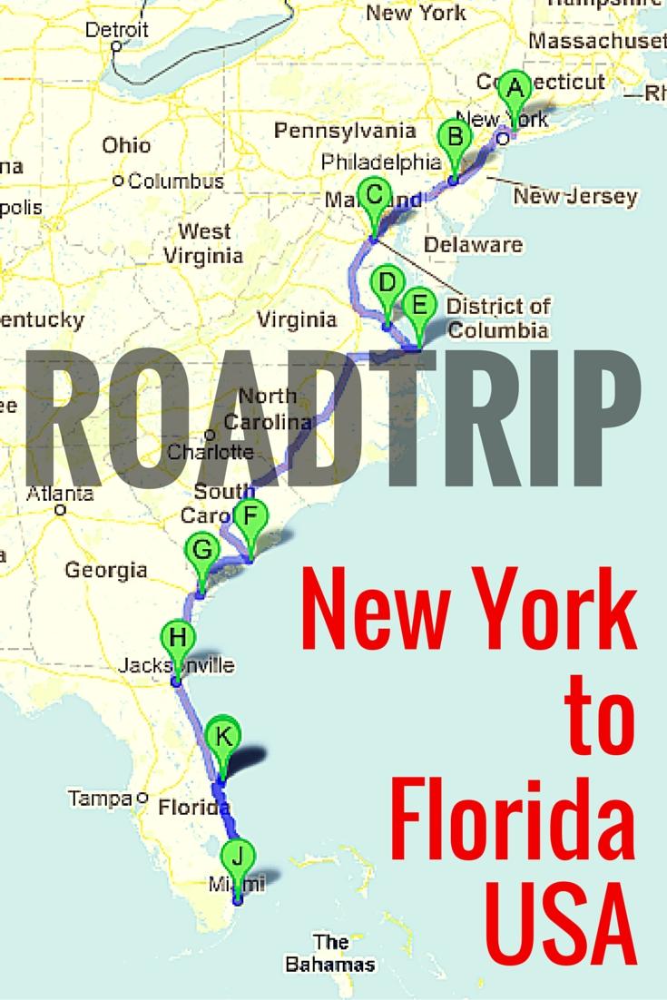 road trip along the east coast of usa | east coast, road trips and