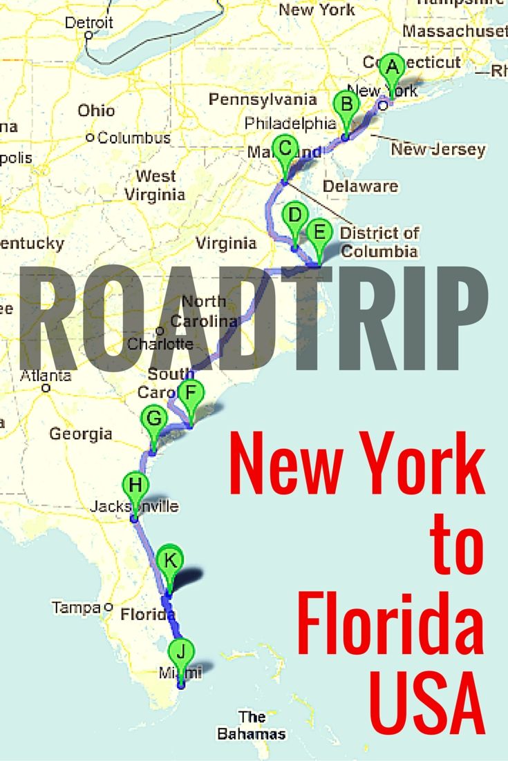 10 Unique Family Vacation Ideas East Coast road trip along the east coast of usa east coast road trips and 5 2020