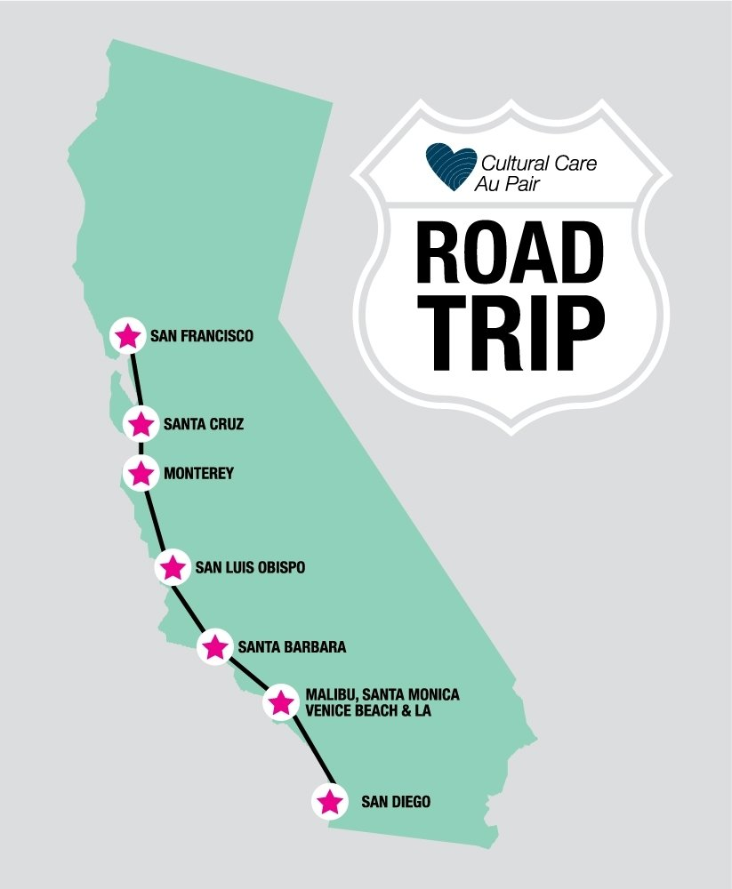 10 Lovely West Coast Road Trip Ideas roadtrip an au pair and her family and friends from home travel the 2020