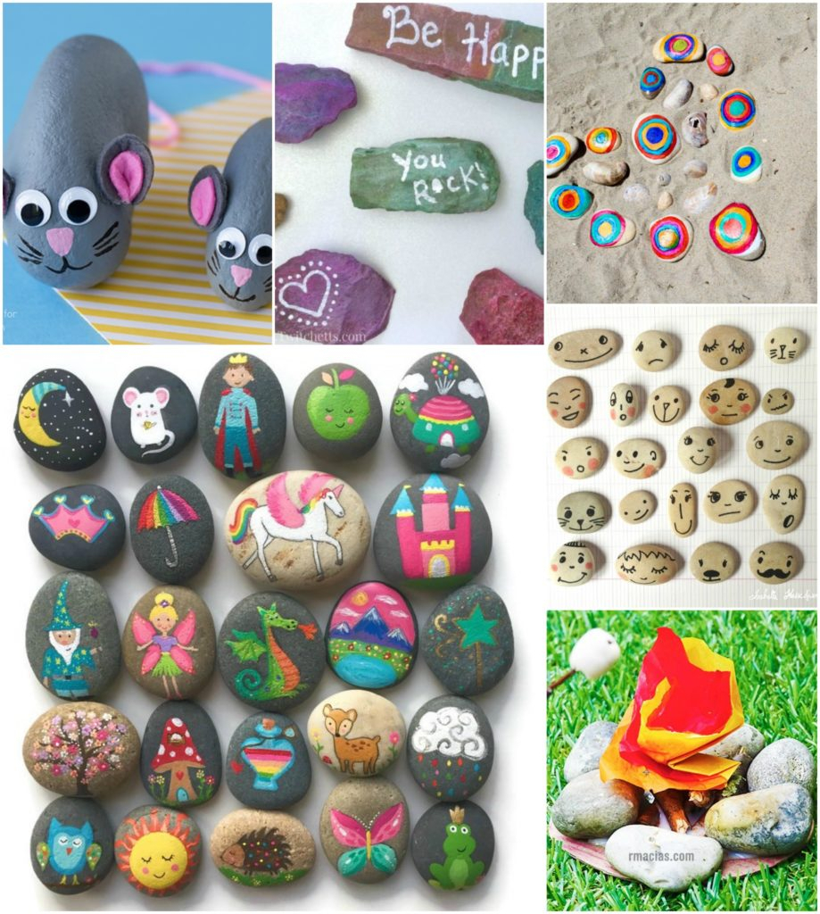 10 Fabulous Rock Painting Ideas For Kids rock crafts for kids 25 creative rock painting ideas e280a2 color made 1 2020