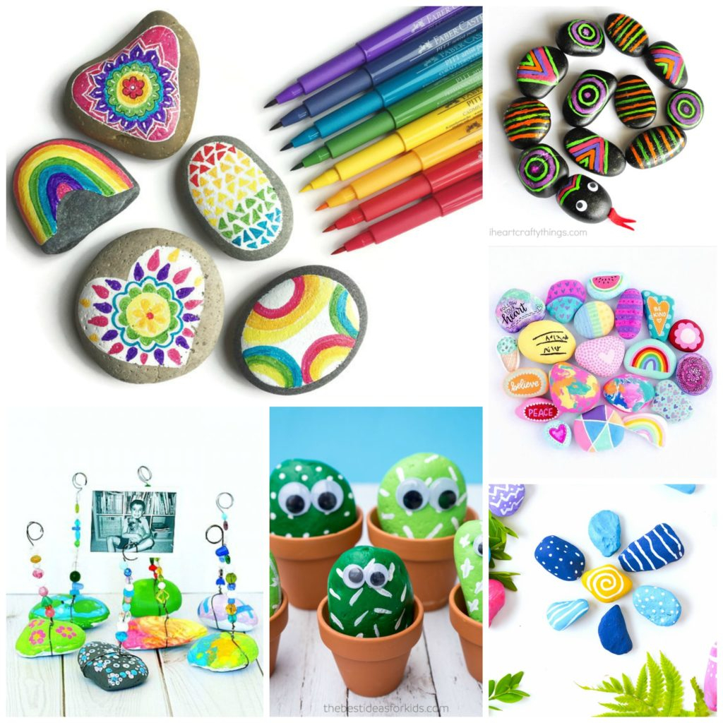 10 Fabulous Rock Painting Ideas For Kids rock crafts for kids 25 creative rock painting ideas e280a2 color made 2020