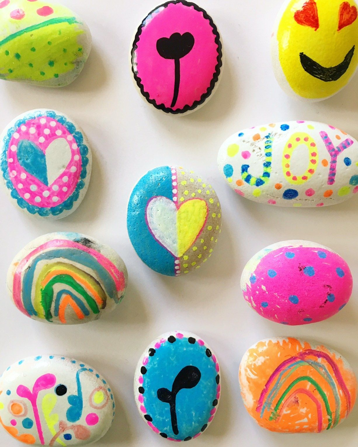 rock painting ideas for kids | crafts for kids | painted rocks kids