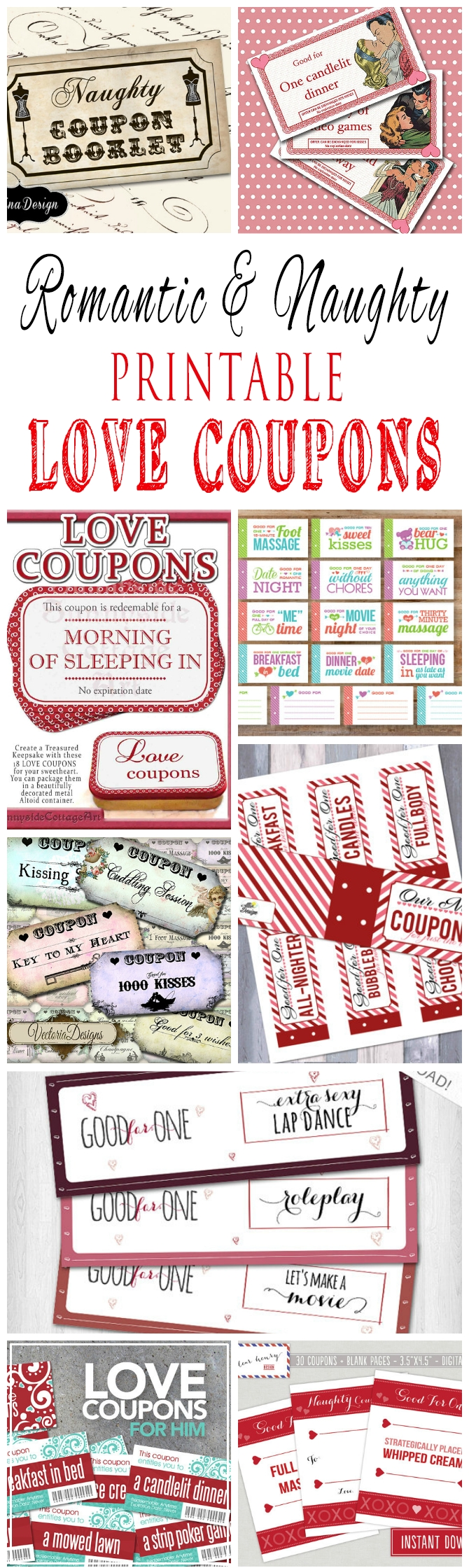 10 Best Ideas For Coupon Book For Boyfriend romantic and naughty printable love coupons for him glitter n spice 10 2020