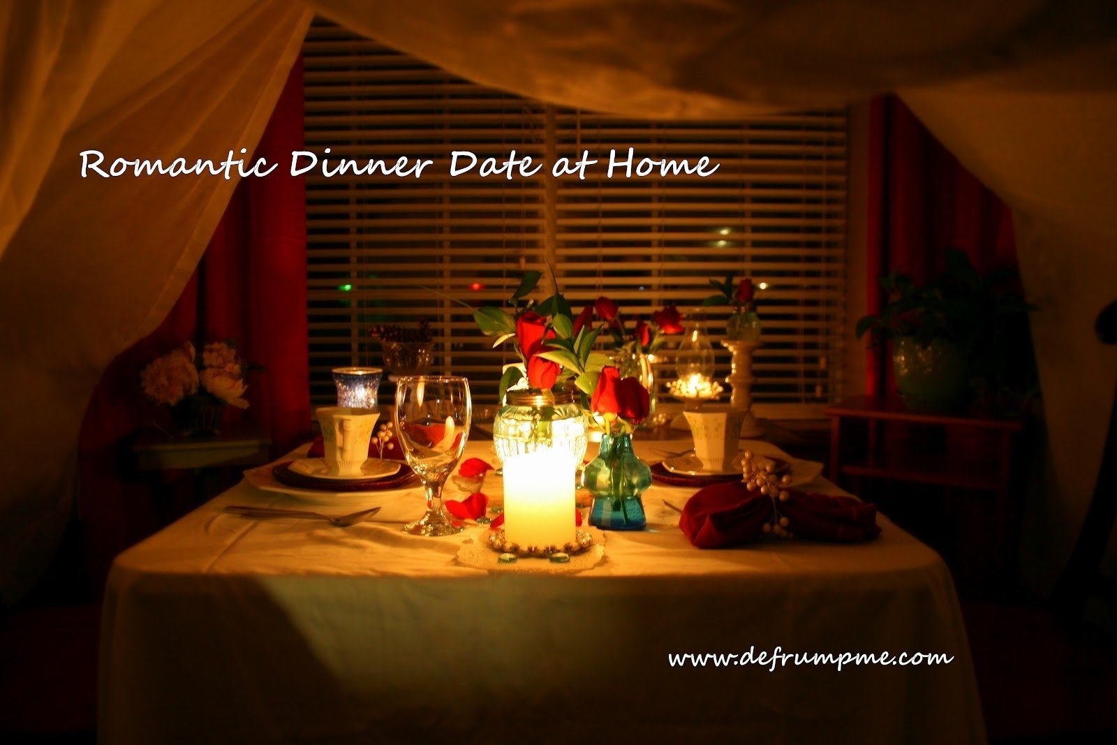 10 Fabulous Ideas For Romantic Night At Home romantic dinner date at home date nights pinterest romantic 2 2020