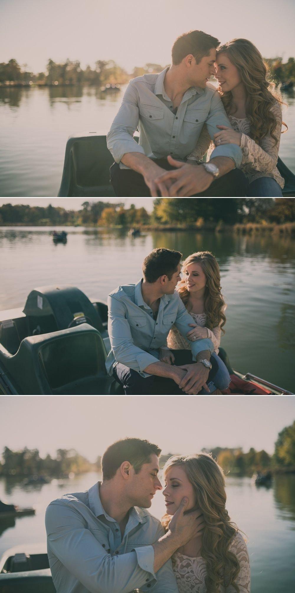 romantic engagement photos - st. louis wedding photography