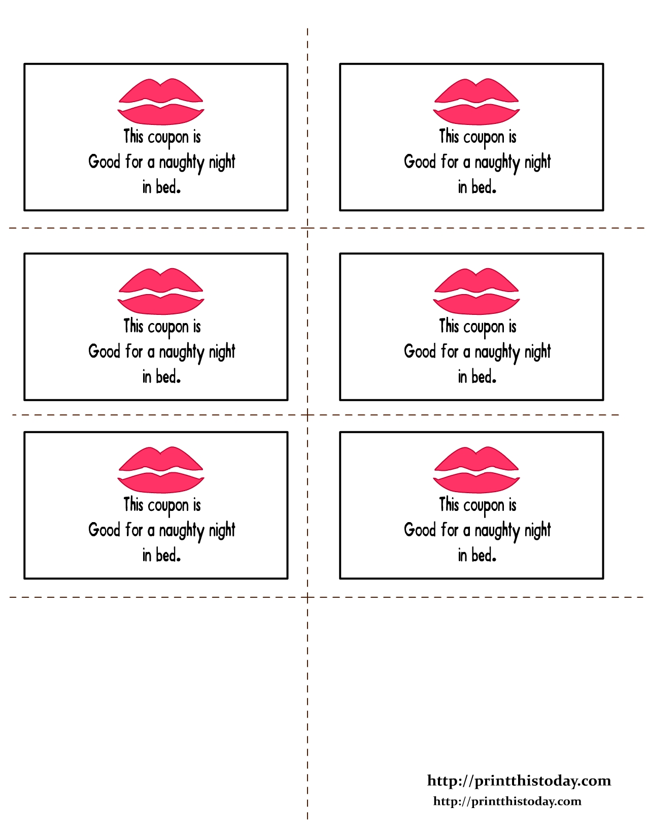 10 Beautiful Naughty Coupon Ideas For Boyfriend romantic love coupon printable romantic love coupons print this 2020