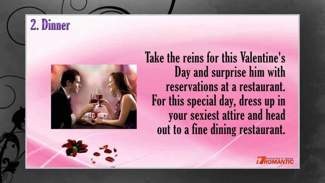10 Fashionable Romantic Valentines Ideas For Him romantic valentines day ideas for him romantic ideas for 2020