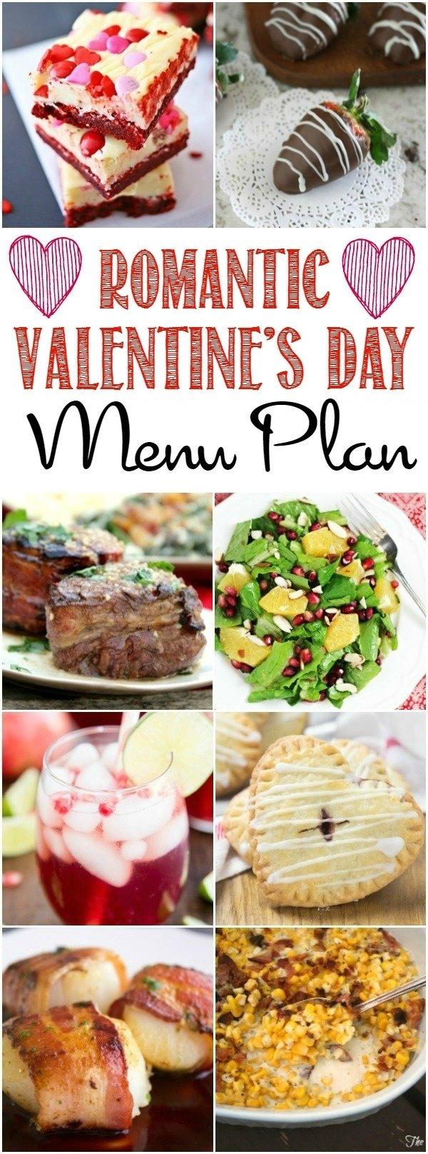 10 Stylish Romantic Valentines Day Dinner Ideas romantic valentines day menu plan bread booze bacon 2021