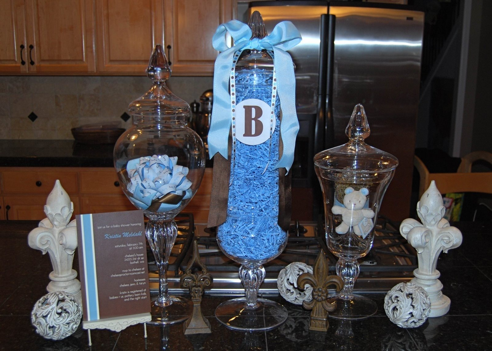 10 Fabulous Blue And Brown Baby Shower Ideas room to inspire b is for baby boy 2020
