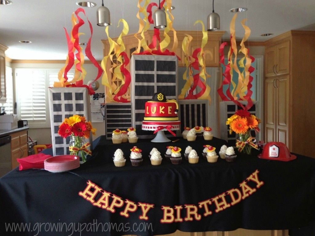 10 Awesome Fire Truck Birthday Party Ideas rooms and parties we love april 2014 week 4 firefighter birthday 2020