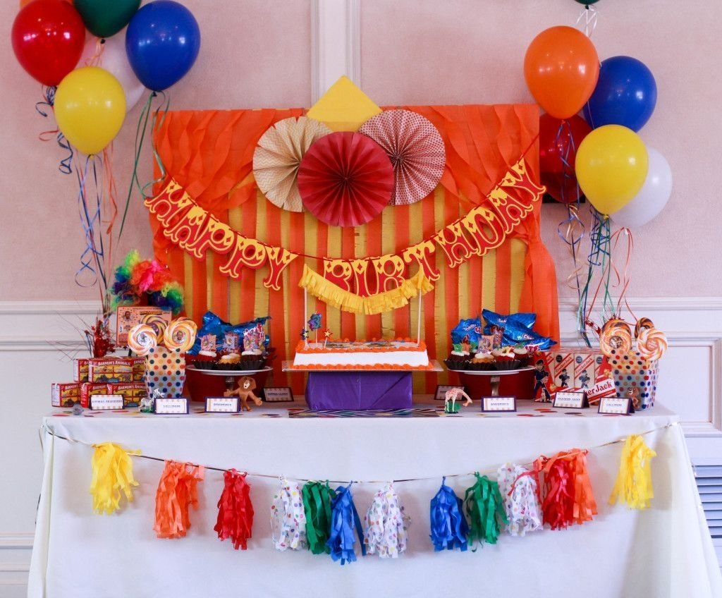 rooms and parties we love this week | circus carnival party