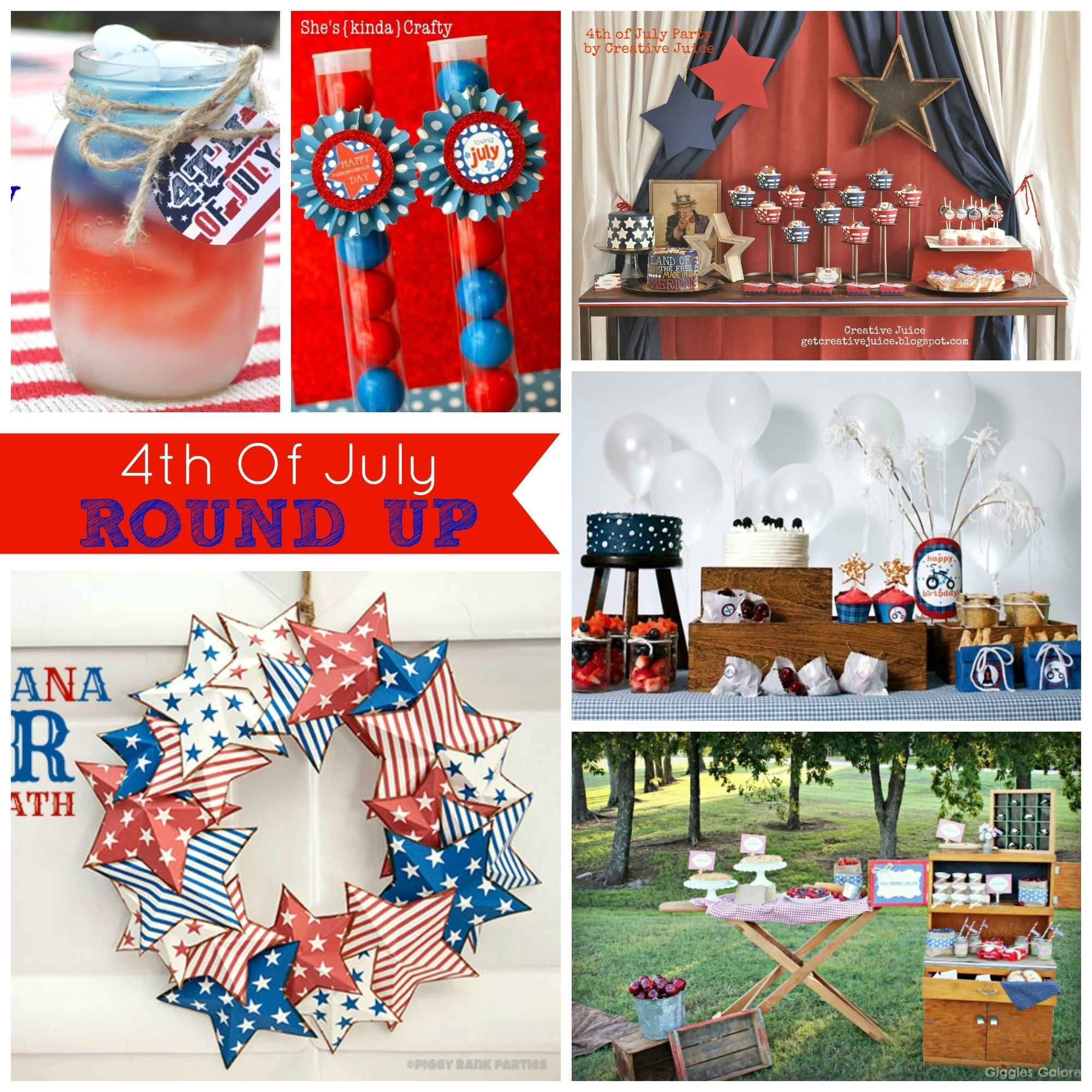 10 Most Recommended Ideas For Fourth Of July Party round up 4th of july party ideas creative juice 4 2020