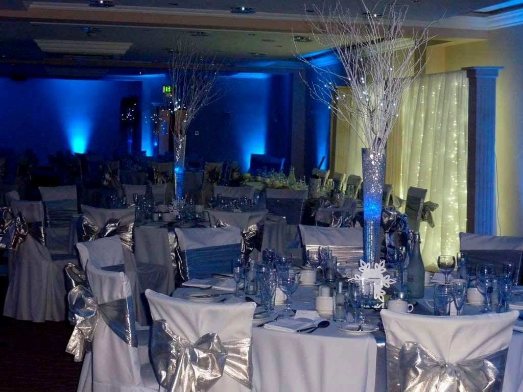 10 Lovable Royal Blue And Silver Wedding Ideas royal blue and silver wedding decoration ideas table settings 1