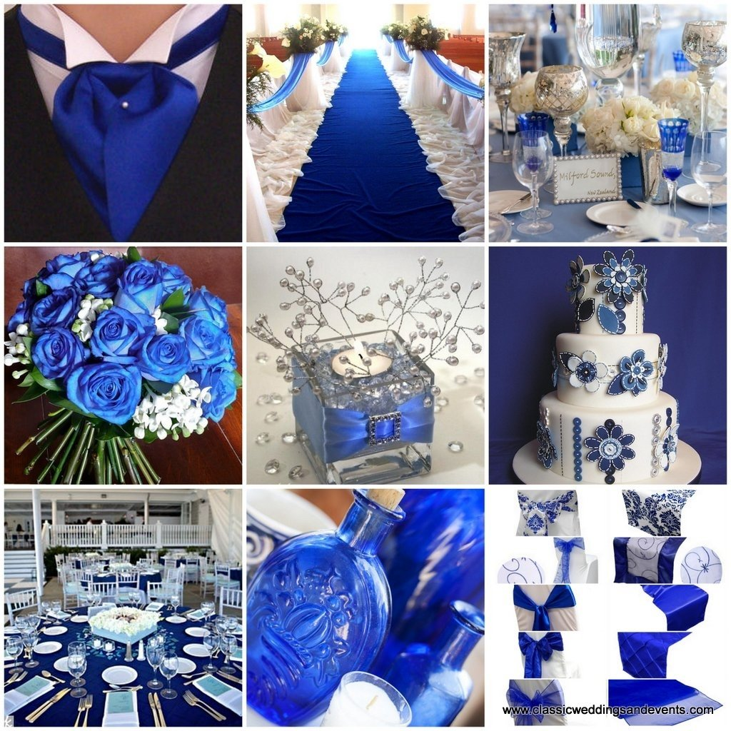 10 Lovable Royal Blue And Silver Wedding Ideas royal blue with silver and lace wedding reception classic weddings
