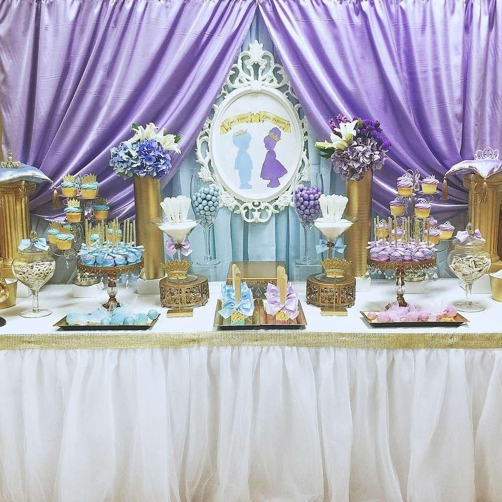 10 Elegant Princess And Prince Party Ideas royal prince and princess baby shower baby shower party ideas 2020