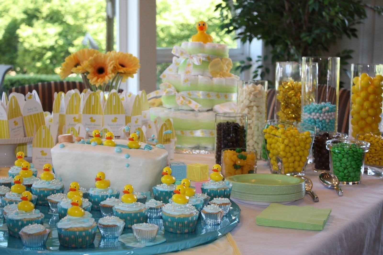10 Gorgeous Duck Themed Baby Shower Ideas