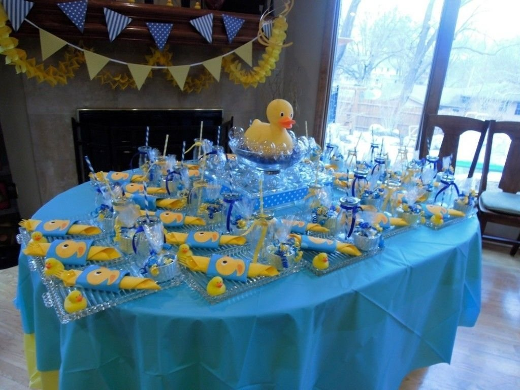 10 Amazing Rubber Duck Baby Shower Ideas