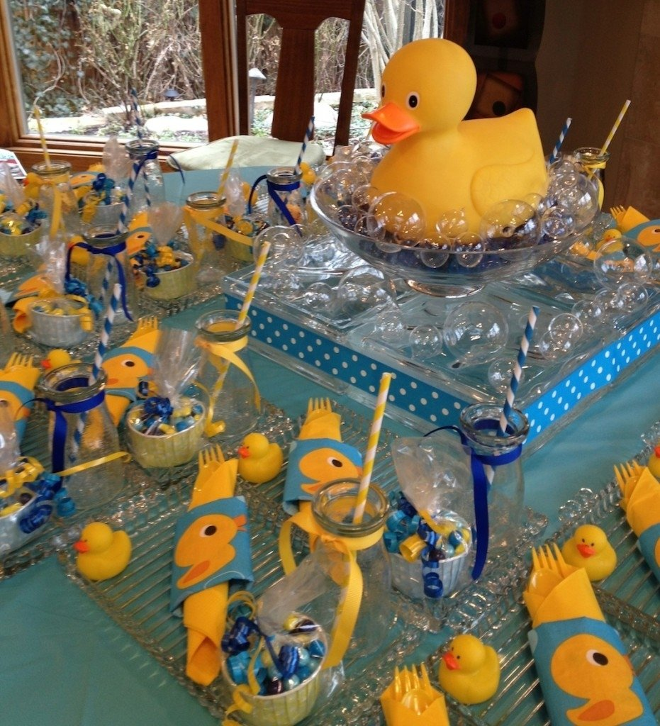 rubber ducky baby shower ideas for a girl | baby shower ideas gallery