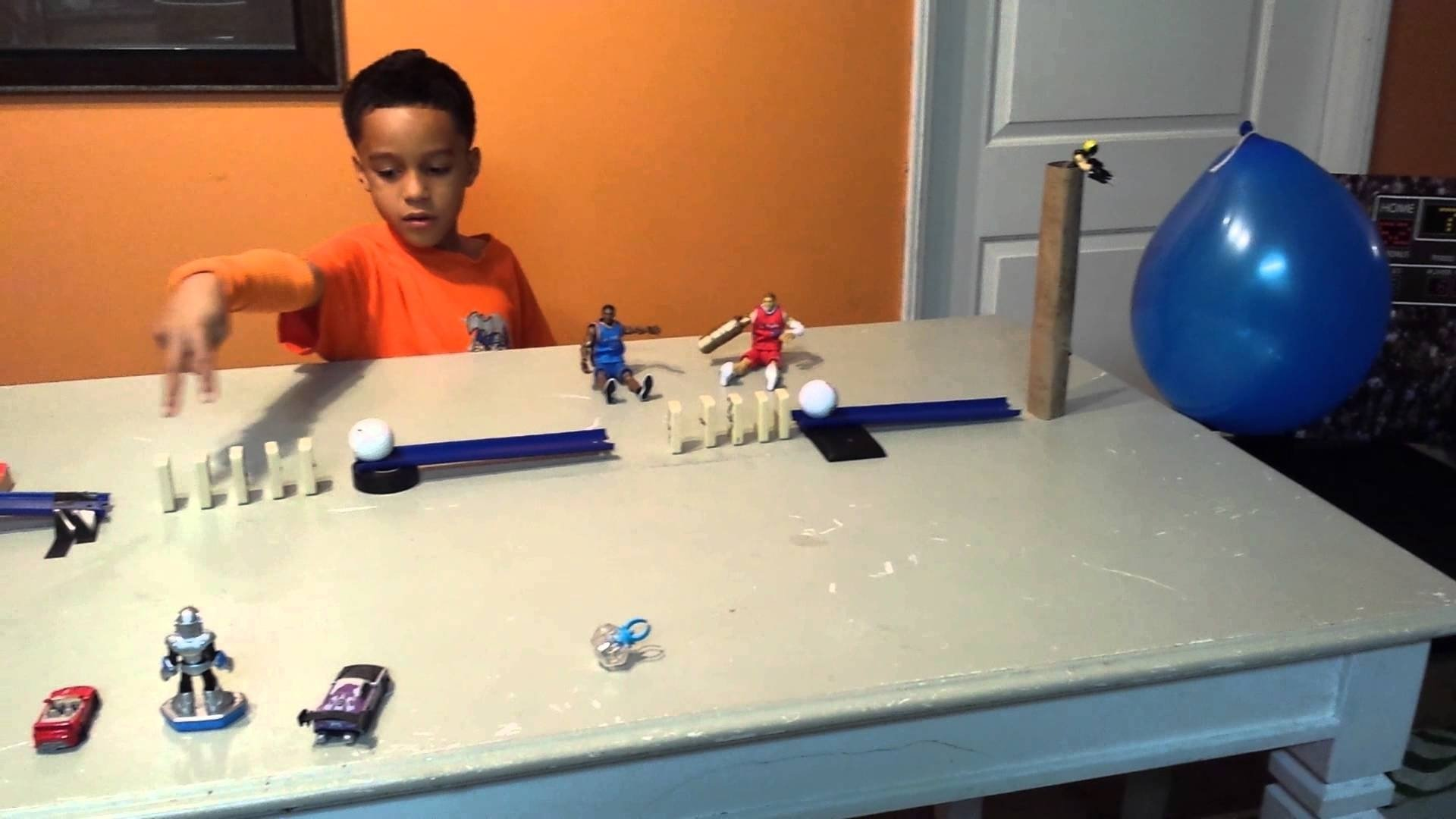 10 Lovely Ideas For A Rube Goldberg Machine rube goldberg machine pop a balloon youtube 1 2020