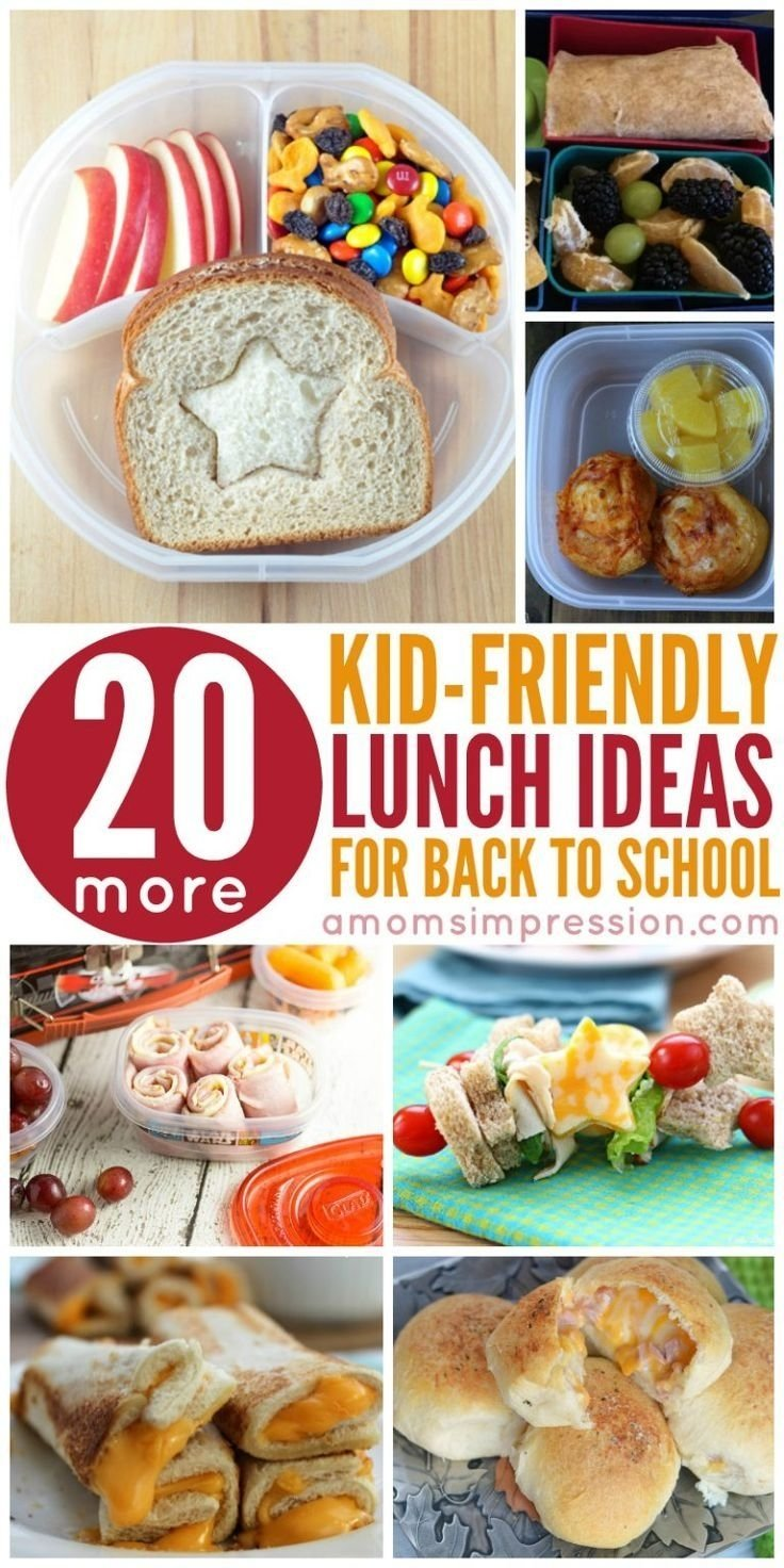 running out of ideas for kids lunches? get these kid-friendly lunch